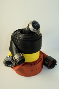 Large Diameter Rubber Water Hose | Rawhide Fire Hose