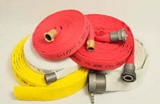 Double Jacket Fire Hose 800 LB Test from Rawhide Fire Hose